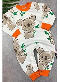 Papyon Baby Kids Koala Baskılı Erkek Bebek Tulum